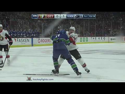 Zack MacEwen vs. Mark Borowiecki