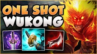STOP PLAYING WUKONG WRONG! NEW STORMRAZOR TURNS WUKONG INTO A 1v9 ANIMAL! League of Legends Gameplay
