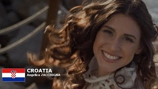 Angelica Zacchigna Contestant from Croatia for Miss World 2016 Introduction