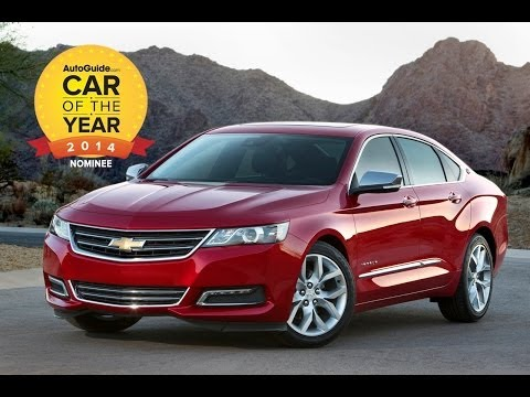 AutoGuide 2014 Car of the Year Finalist No. 3 - 2014 Chevrolet Impala