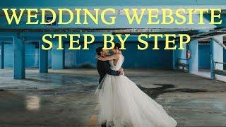 Wedding Website Tutorial - Single-Page Landing Site In Wordpress