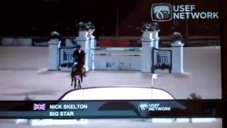 Nick Skelton & Big Star Wellington, Florida, Nations Cup 2012.wmv - YouTube