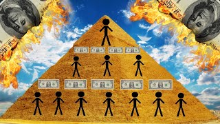Pyramid Schemes, Why They Don't Last!