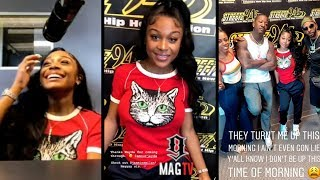 Amour Jayda Talks Dating Lil Baby With Yung Joc On IG Live!