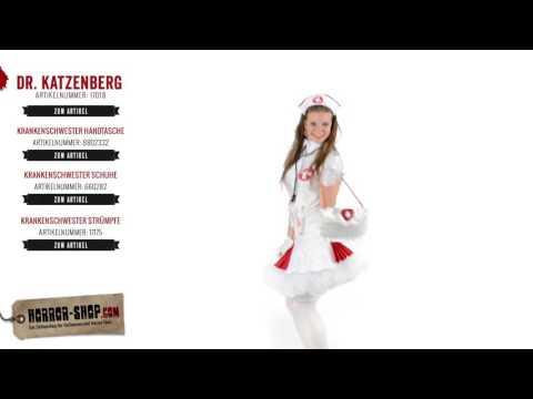 Dr. Katzenberg Fasching Kostüm - Horror-Shop.com