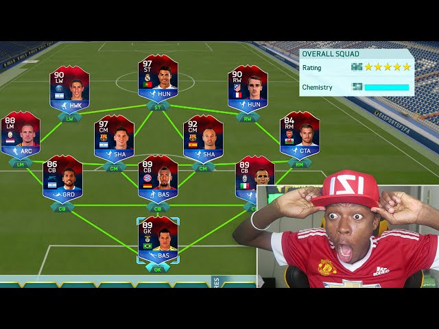 THE IMPOSSIBLE FULL IMOTM FUT DRAFT FIFA 16 FUT DRAFT CHALLENGE