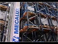Automation in a futurist scrapyard warehouse | Mecalux