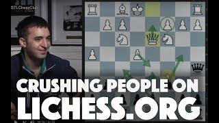 Crushing People on lichess.org   Viewers' Choice - IM Eric Rosen