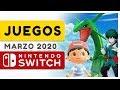 Los Mejores Juegos De Nintendo Switch 2020 Marzo