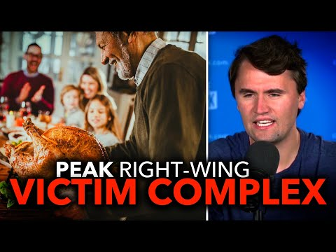Charlie Kirk & Right-Wing Chuds Cry About Thanksgiving COVID Warnings