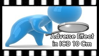 ICD-10 Coding — Adverse Effects in ICD-10-CM