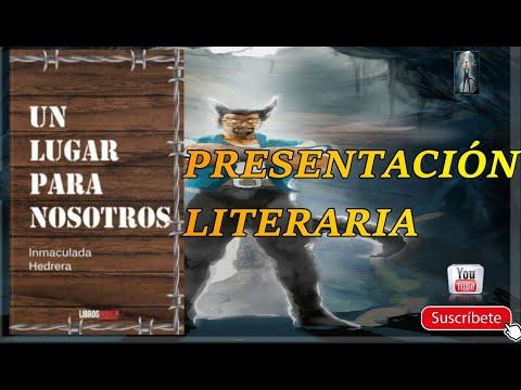 Presentación del libro Un Lugar para nosotros de la escritora Inmaculada Hedrera #Yomequedoencasa - YouTube