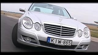 Mercedes E 320 CDi teszt Gajdos Tamással