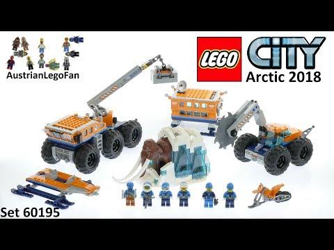 Vidéo LEGO City 60195 : La base arctique d'exploration mobile
