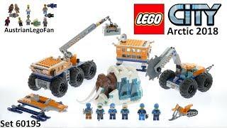 Lego City 60195 Arctic Mobile Exploration Base - Lego Speed Build Review