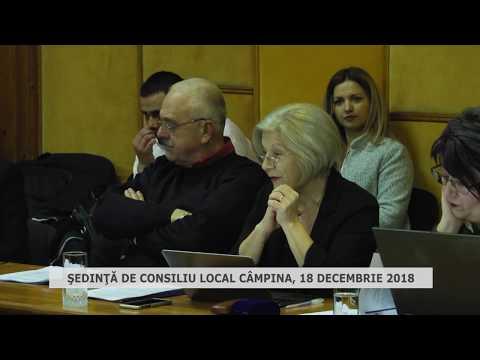Şedinta Consiliu Local Câmpina 18 12 2018