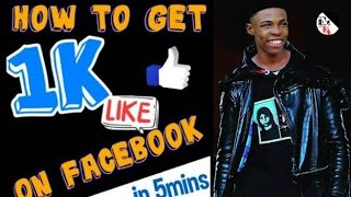 How To Get 1k Likes On Facebook For Free 2021✔️ Hacks and Tips 🔴