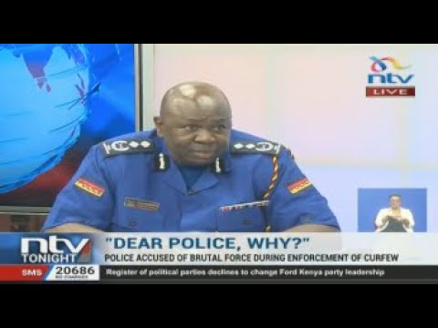 Police Brutality in Kenya: Spokesperson Charles Owino responds to complaints
