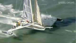 Rekordjagd in San Francisco: Segeln mit knapp 70 Sachen