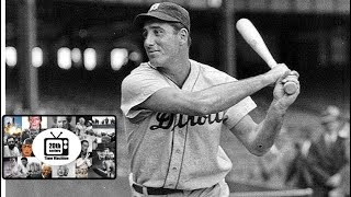 Hank Greenberg Playing His Last Baseball Game For Detroit In May 1941