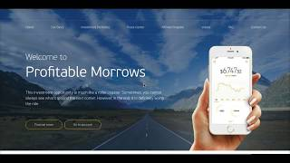 Profitable Morrows - видеообзор и депозит 0.5 BTC в profitablemorrows.com