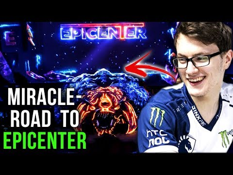 Miracle- Getting Ready For EPICENTER Major - Gameplay Compilation Dota 2