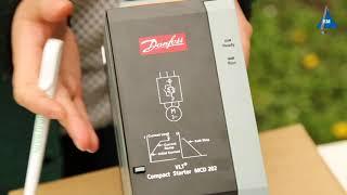 Устройство плавного пуска Danfoss MCD 202-037-T4-CV3 от компании ПКФ «Электромотор» - видео