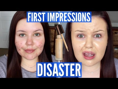 THE WORST FOUNDATION I'VE TRIED | First Impressions FAIL