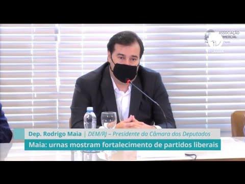 Maia: urnas mostram fortalecimento de partidos liberais - 16/11/20