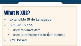 XML Tutorial   53 XSL Introduction