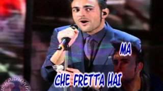 Marco Mengoni - Non me ne accorgo (karaoke)