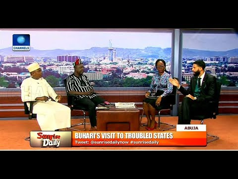 Reviewing Buhari's Visit To Troubled States With Garba Shehu
