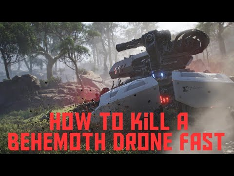 GHOST RECON BREAKPOINT HOW TO EASILY KILL A BEHEMOTH DRONE