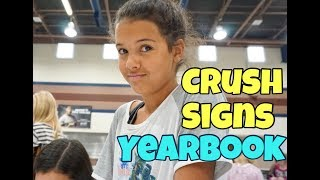 Last Day of School | Crush signs her Yearbook