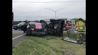 Paramedic A74 MVC with Entrapment