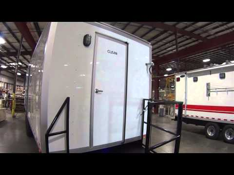 Environmental Decon Shower Trailer for Industrial Sites | Portable Restrooms Trailer