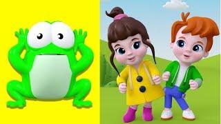 Küçük Kurbağa Kulağın Nerede?  Bebekler İçin En Güzel Şarkılar
