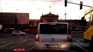 Сербия Белград, таксист рассказывает как американцы бомбили город