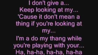 Pussy Cat Dolls Beep With Lyrics