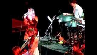 Björk, Vulnicura tour, Roma - Harm of will - live 29/07/2015.