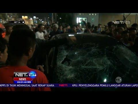 Pengemudi Mobil di Jakarta Tabrak Belasan Motor NET24