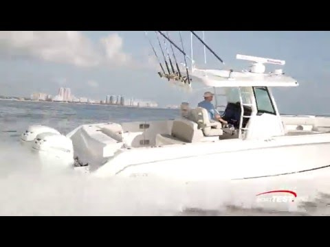 Boston Whaler 330 Outrage video