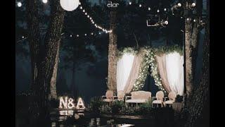 A Forest WEDDING DECOR INSPIRATION Of Nasha & Agi By Elior Design