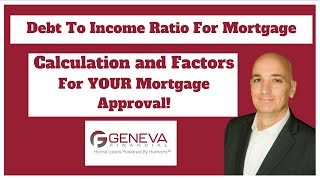 Debt To Income Ratio For Mortgage | Calculation and Discussion