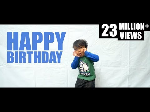 Gen halilintar   happy birthday happy grateful  official music video