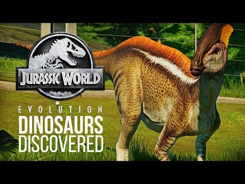 TWO NEW DINOSAURS FOUND IN THE FILES! | Jurassic World: Evolution Update
