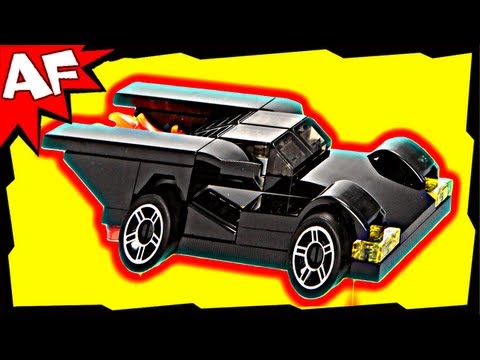 Vidéo LEGO DC Comics Super Heroes 30161 : Batmobile (Polybag)