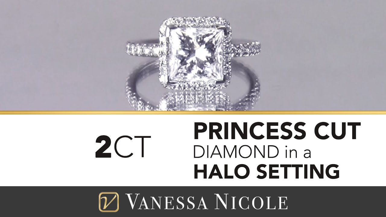 2ct Princess Cut Diamond Ring
