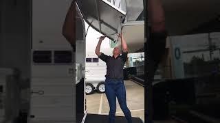 TempFlow Lift-up Door Operation