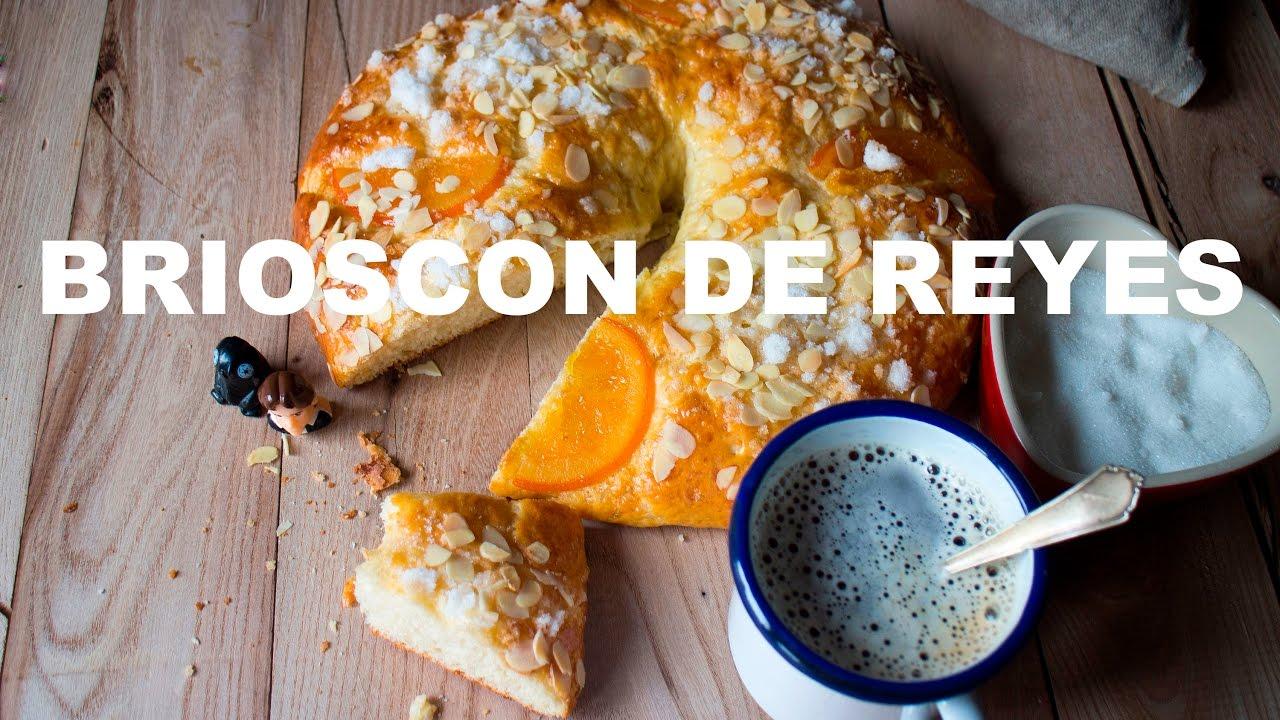 """ROSCON DE REYES CON MASA DE BRIOCHE, """"BRIOSCON"""" RECETA GRABADA CON UNA GOPRO"""